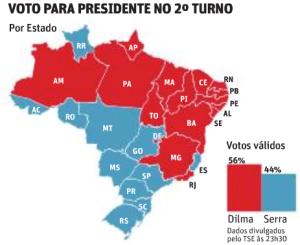 votacao-para-presidente-no-segundo-turno-de-2010